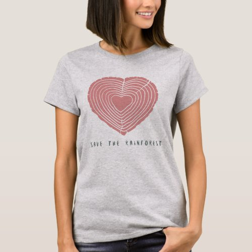 Save The Amazon Rainforest T_Shirt