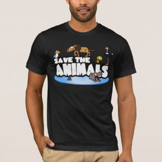 Save the Animals Mens Tee