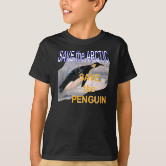 Save the Arctic Save the Penguin kids T-Shirt