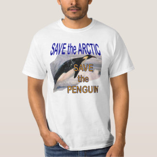 Save the Arctic Save the Penguin T-Shirt