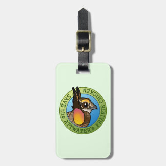 Save the Attwater's Prairie Chicken Bag Tag