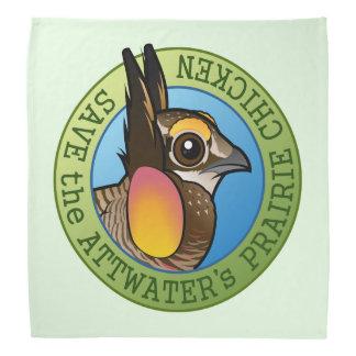 Save the Attwater's Prairie Chicken Bandana