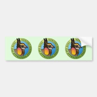 Save the Attwater's Prairie Chicken Bumper Sticker