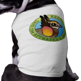 Save the Attwater's Prairie Chicken Dog Tee