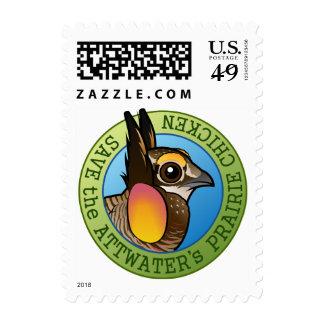 Save the Attwater's Prairie Chicken Stamps