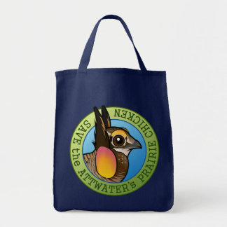Save the Attwater's Prairie Chicken Tote Bag