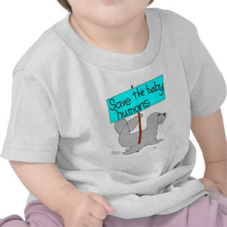 Save The Baby Humans Baby Shirt