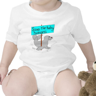 Save The Baby Humans Bodysuit