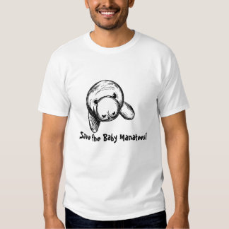 Save the Baby Manatees! T Shirt