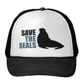 Save the Baby Seals Do Not Club activist Trucker Hats