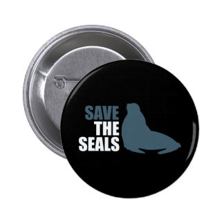 Save the Baby Seals Do Not Club Pinback Button