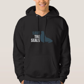 Save the Baby Seals Do Not Club Hoodie