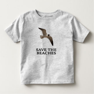 Save the Beaches Laughing Gull Toddler T-shirt