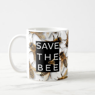 Save the Bee! Save the World! Boxed Bee Coffee Mug