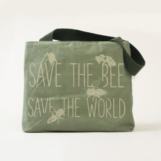Save the Bee! Save the World! Live Design Tote