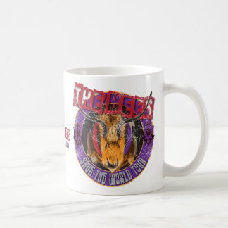 Save the Bee! Save the World! Rock & Roll Bee Coffee Mug