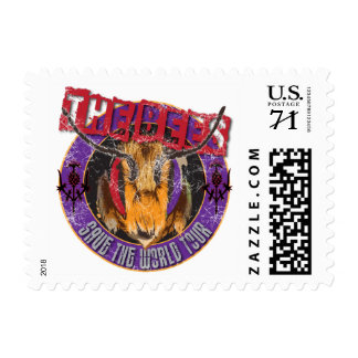 Save the Bee! Save the World! Rock & Roll Bee Postage