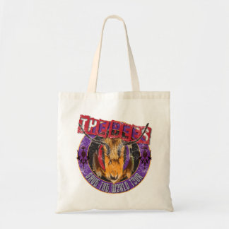 Save the Bee! Save the World! Rock & Roll Bee Tote Bag
