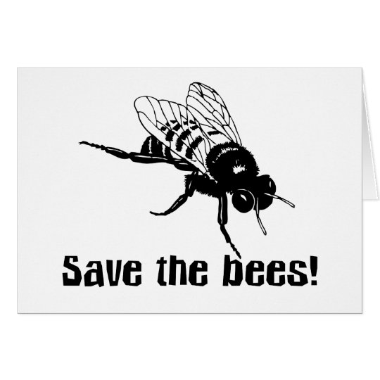 Save the Bees Card