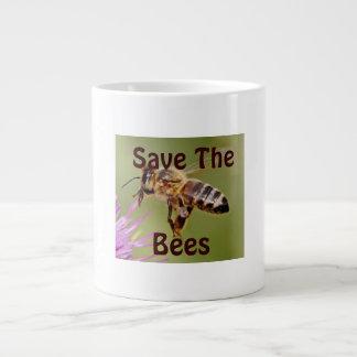 Save The Bees Giant Coffee Mug