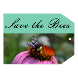 Save the Bees Gift Tag Card