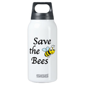Save the Bees Insulated Water Bottle