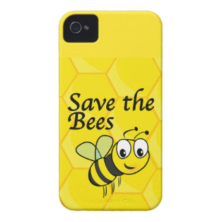 Save the Bees iPhone 4 Cover