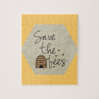 Save the Bees Jigsaw Puzzle