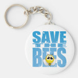 Save the Bees Key Chains