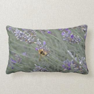 Save the Bees: Lavender Lumbar Pillow