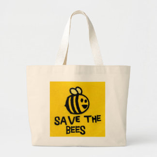 Save the Bees Lrg. Tote Bag