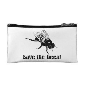 Save the Bees Makeup Bag