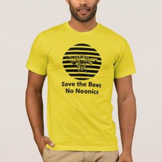 Save the Bees - No Neonics T-Shirt