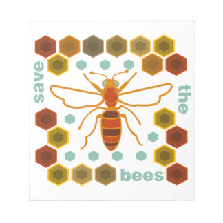 Save the Bees Notepad