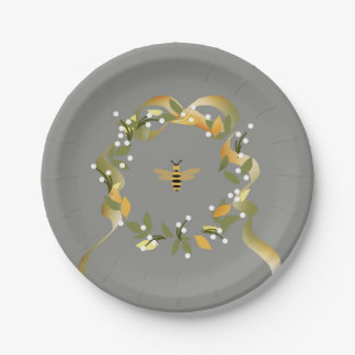 Save the Bees  Paper Plates
