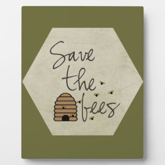 Save the Bees Plaque