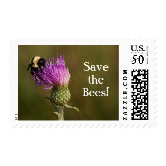 Save the Bees! Postage