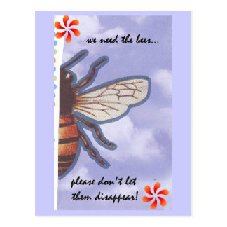 Save the Bees Postcard