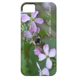Save the Bees...Radish Flowers Phone Case