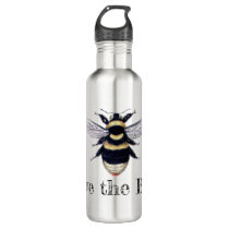 Save the Bees Stainless Steel Water Bottle