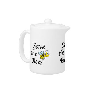 Save the Bees Teapot