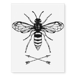 Save the bees temporary tattoos
