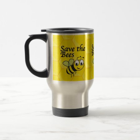 Save the Bees Travel Mug