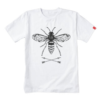 Save the bees zazzle HEART T-Shirt