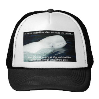SAVE THE BELUGA WHALES HATS
