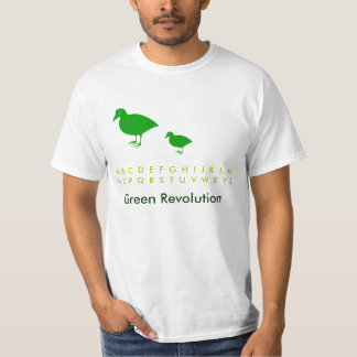 Save the birds: Holiday Fun Green T T-Shirt
