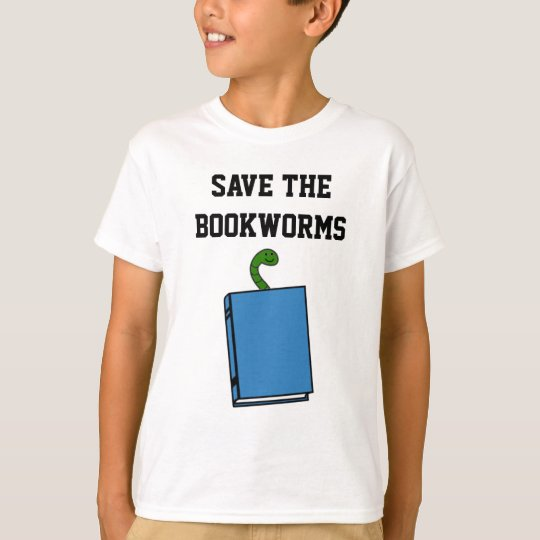 Save The Bookworms T-Shirt