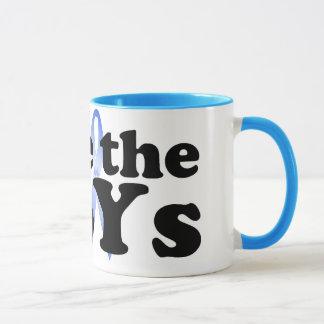 Save the BoYs™ Coffee Mug Oversized (savetheBoYs)