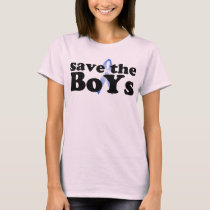 Save the BoYs™ Female Baby Doll T-Shirt