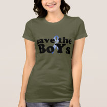 Save the BoYs™ Ladies Baby Doll (Fitted) T-Shirt